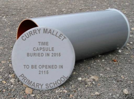 time capsule for the school